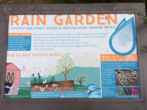 Green Bank Farm Rain Garden Sign