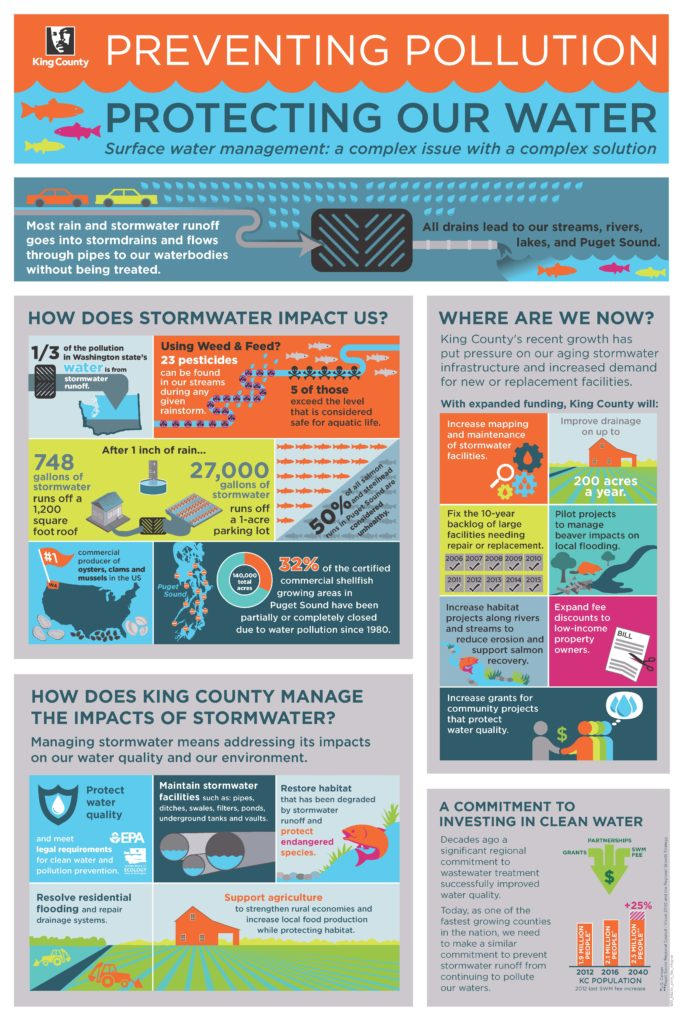 King County Surface Water Infographic