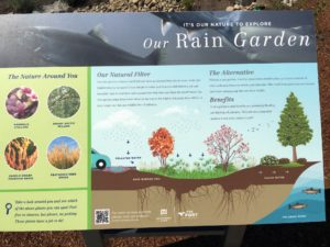 Port of Camas Rain Garden Sign