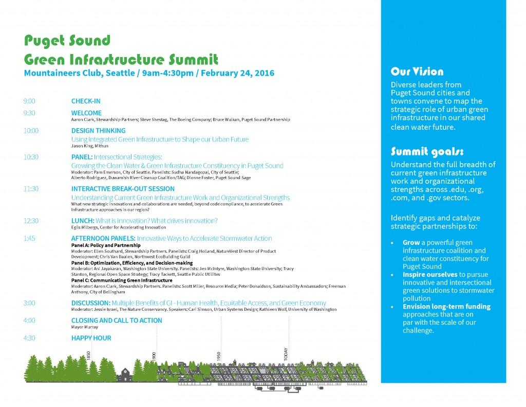 Green Infrastructure Summit Promotional Agenda V2